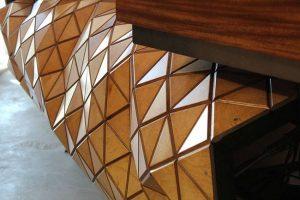 Un produit composite révolutionnaire capable de créer dessurfaces architecturales complexes